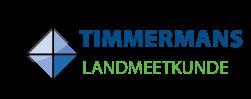 Logo Timmermans landmeetkunde